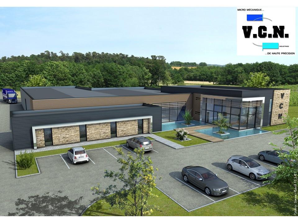 Nouveau batiment VCN Industries Sigoules Dordogne